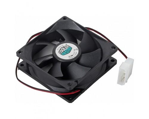 Вентилятор  80x80x25мм Cooler Master N8R-22K1-GP, 0.18A, 2200rpm, 21dBA, пит. БП