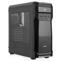 Корпус GMC B7 Aero ATX, fan case 3х120mm (установлено: 2х120mm с LED подсветкой), 2хUSB2.0, 1хUSB3.0, Audio/, черный, без БП