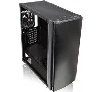 Корпус Thermaltake Versa H27 Tempered Glass Edition, Midi-Tower, fan case 7x120mm (установлено 1), 2хUSB 3.0, 2хAudio, без БП, черный