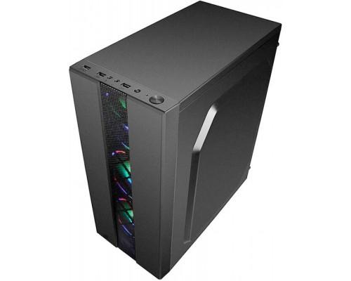 Корпус Accord  ACC-CL290B ATX, fan case 4х120mm (установлено 0), 1xUSB3.0, 2xUSB2.0, черный (без БП)