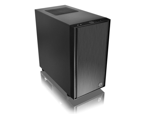 Корпус Thermaltake Versa H17 mATX, fan case 2x120mm (установлено 1), 1хUSB3.0, 2хUSB2.0, 2хAudio, без БП, черный