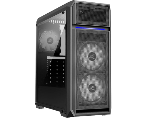 Корпус Zalman N5 OF, ATX, fan case 8x120mm (установлено 3), USB2.0x2, USB3.0x1, Audio I/O, черный, без БП