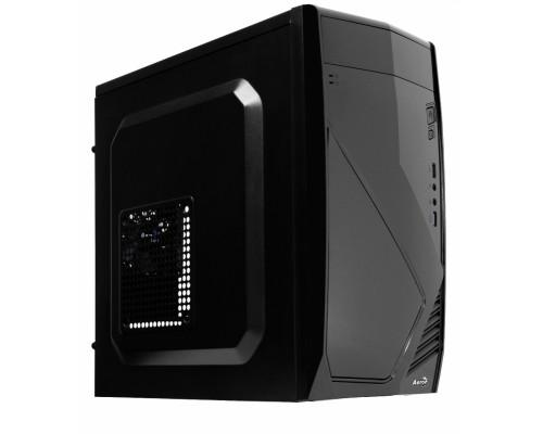 Корпус Aerocool CS-102 mATX 2.03, fan case 1х120mm, 1х80mm, (установлен: 1х80mm) 1xUSB3.0, 1xUSB2.0, черный (без БП)