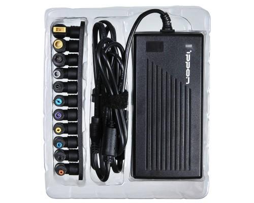 Блок питания для ноутбука Ippon E120 универсальный 15-19.5v, 120Вт, 8 переходников