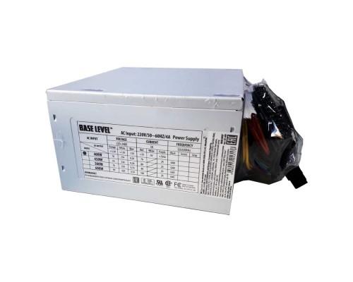 Блок питания BaseLevel 400W BS-400  ATX, (20+4 pin, вентилятор d80mm) OEM