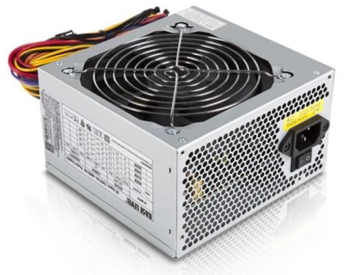 Блок питания BaseLevel 600W BS-600 ATX2.3 20/24+4pin+6/8pin, APFC, вентилятор d120мм OEM