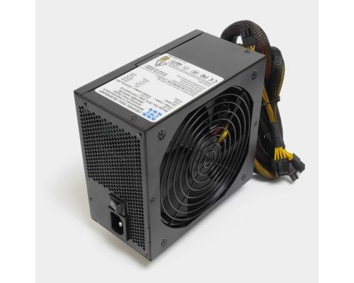 Блок питания CWT 1000W CSH1000V-G ATX12V V2.3 (APFC, 80Plus Gold, 20/24+4/8+6/8pin, PCI-E(6+2)x6, HDDx3, SATAx8, d120мм, модульный) RTL