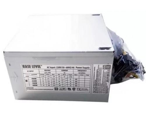 Блок питания BaseLevel 450W BS-450  ATX, (20+4 pin, вентилятор d80mm) OEM