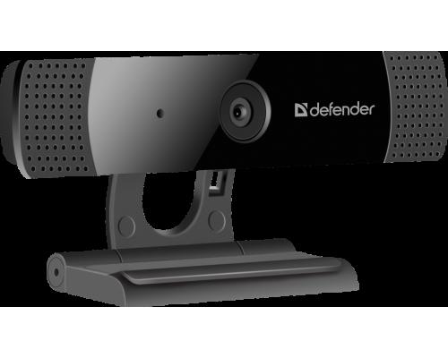 Web камера Defender G-lens 2599 (63199), FullHD 1080p, 2Mpx, микрофон, автофокус USB, черный