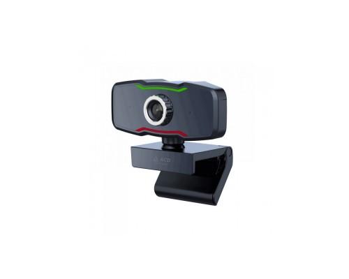 Web камера  ACD-Vision UC500 CMOS 2МПикс, 1920x1080p,30к/с, микрофон, USB 2.0, универс. крепление, черный