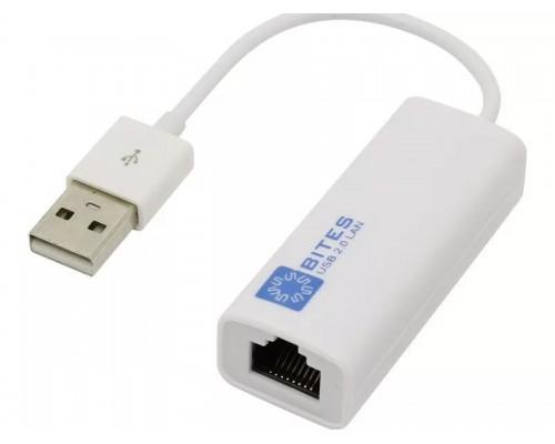 Сетевой адаптер 100Мбит/с 5Bites UA2-45-02WH USB2.0 белый