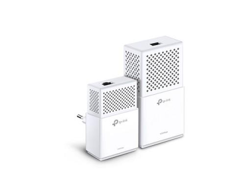 Сетевой адаптер TP-LINK TL-WPA7510 KIT Powerline ( комплект из двух адаптеров: AV1000 1000 Мбит/с и AV1000 1UTP 1000Mbps, Wi-Fi 802.11ac 300/433 Мбит/с )