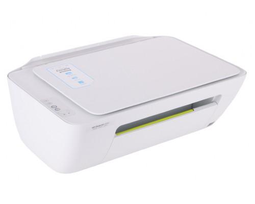 МФУ HP Deskjet 2130, принтер+сканер+копир, A4, USB, белый