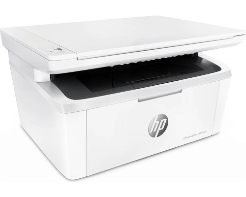 МФУ HP LaserJet Pro MFP M28a A4, лазерный, принтер + сканер + копир, белый (USB2.0)