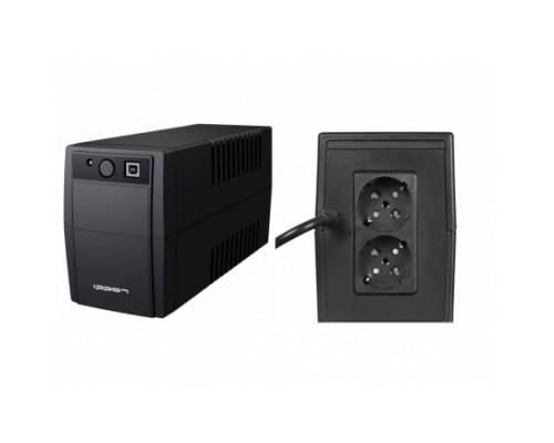 ИБП Ippon 850BA Back Basic 850 Euro 480Вт, 2 евророзетки, черный