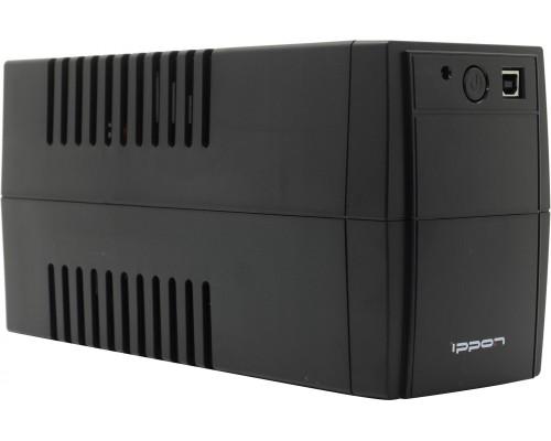 ИБП Ippon 850BA Back Basic 850S Euro 480Вт, 3 евророзетки, черный