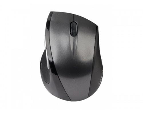Мышь A4 G7-750-2, USB беспр опт мини мышь, 2,4ГГц, 6кн+кл., серо-черная