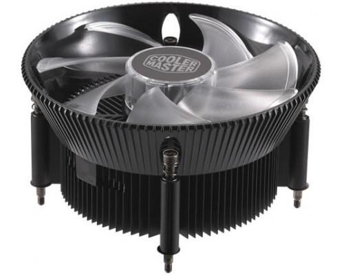 Кулер Cooler Master I71C RR-I71C-20PC-B1 Socket115x, Al-Cu, PWM, 95W, 650-1800 об/мин, 28dBA, RGB Fan