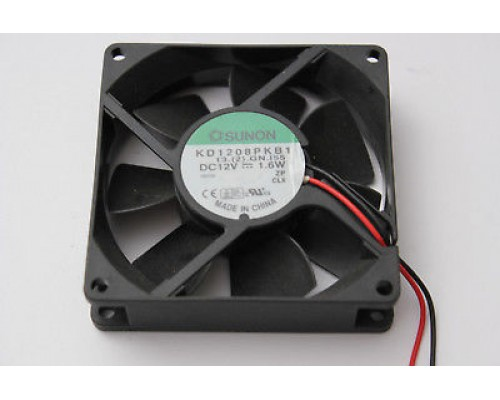 Вентилятор  80x80x20мм Sunon KD1208PKB1, 3200 об/мин, 36CFM, Ball