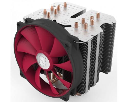 Кулер DeepCool REDHAT Soc-AMD/1150/1155/1156/2011/ 4pin 12-31dB Al+Cu 250W 1079g винты ultra-silent