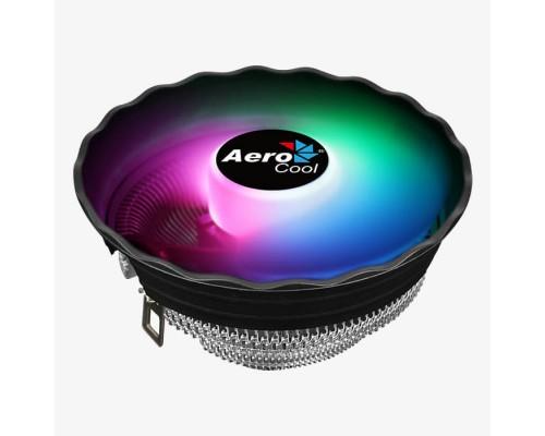 Кулер Aerocool Air Frost Plus Socket 775, 115X, 1200, AMX, FMX, 120мм, 1500rpm, 24,2dBA, 3pin, 110W, RGB подсветка