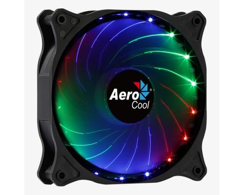 Вентилятор 120x120x25мм Aerocool Cosmo 12 RGB, 4pin Molex, 1000RPM, 23,9dbA, 26,2 CFM, RGB подсветка