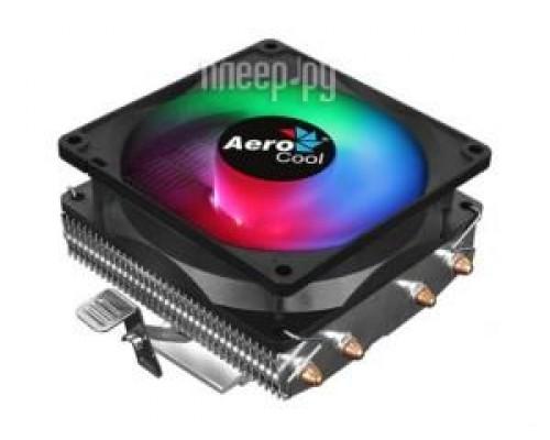 Кулер Aerocool Air Frost 4 Socket 775, 115X, 1200, AMX, FMX, 90мм, 1800rpm, 26,7dBA, 3pin, 125W, 4 тепловые трубки, RGB подсветка