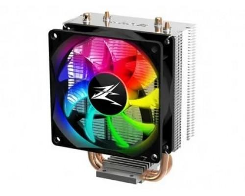 Кулер Zalman CNPS4X RGB Socket 775/115x/1200/AMX/FMX, 92mm, 1000-2000rpm, 28dBa, 4pin PWM, 2 тепловые трубки, RGB подсветка, 95W
