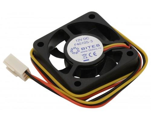 Вентилятор  40x40x10мм 5Bites, 5500RPM, 22dB, Sleeve, 3pin
