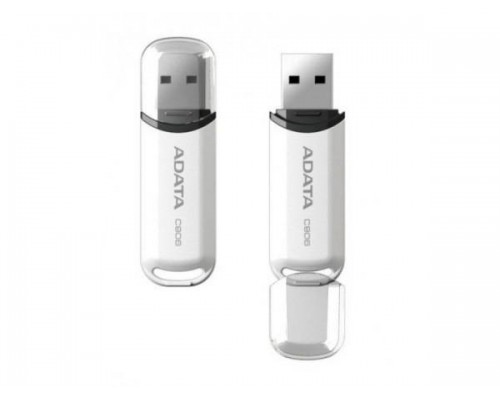 Флеш драйв A-DATA USB 2.0 16Gb C906 AC906-16G-RWH белый