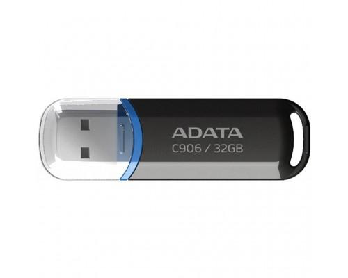 Флеш драйв A-DATA USB 2.0 32Gb C906 Classic, черный, AC906-32G-RBK