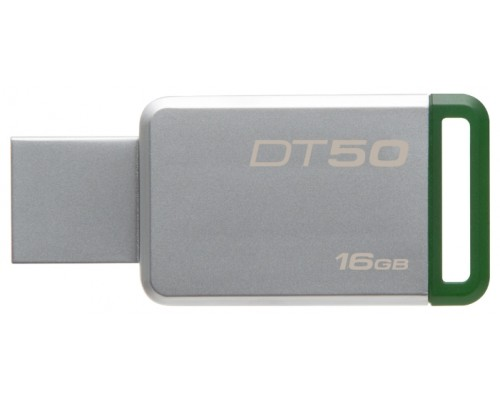 Флеш драйв Kingston 16Gb USB3.0 Data Traveler 50 DT50/16GB 30MB/s-чтение, 5MB/s-запись