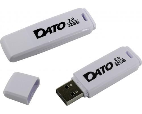 Флеш драйв Dato 32Gb USB2.0 DB8001W-32G белый