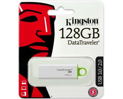 Флеш драйв Kingston 128Gb USB 3.0 Data Traveler DTIG4/128GB
