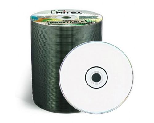 Диск DVD-R 4,7Гб MIREX 16x Printable (100шт/уп)