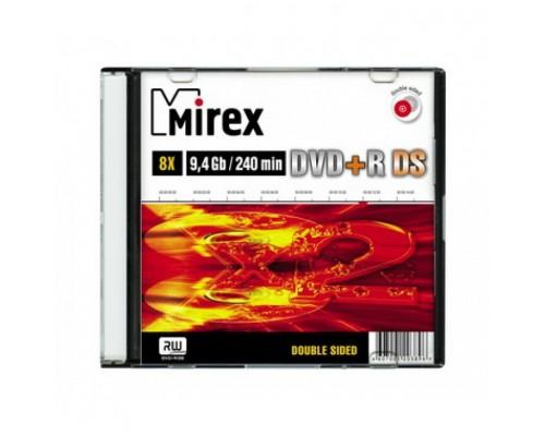 Диск DVD+R 9,4Гб Mirex 8x Double Sided (slim)