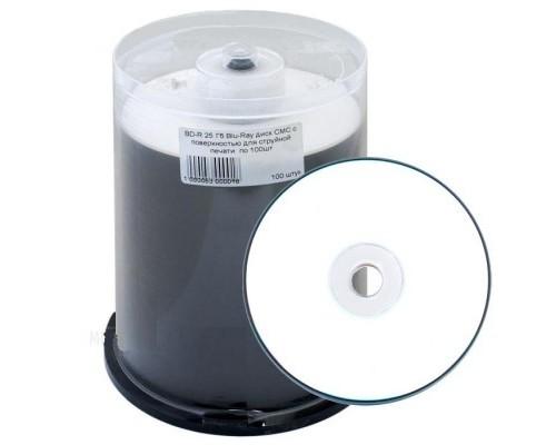 Диск BD-R 25Гб 6x СМС Printable (100шт/уп), 1 диск