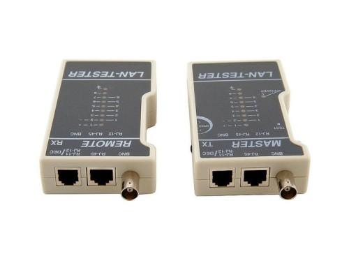Тестер-LAN 5Bites LY-CT013 для кабелей RJ-11, RJ-12, RJ-45, BNC