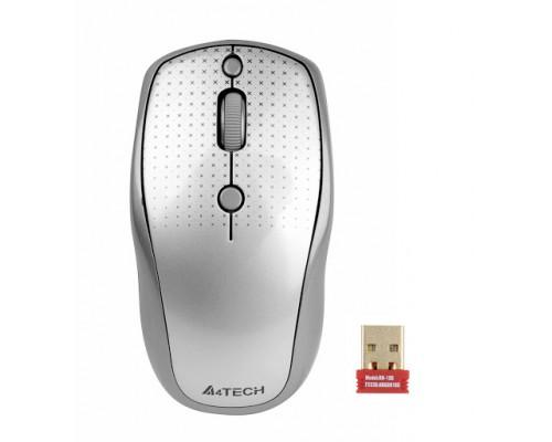 Мышь A4 G9-530HX-1 USB беспр опт мышь, 2,4ГГц, 2000dpi, 4кн.+скр., без отв. для лазера, серая