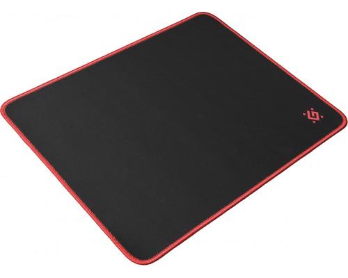Коврик для мыши Defender Gaming Black M игровой ткань 360x270мм черный (50560)