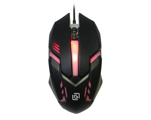 Мышь Oklick 396M Insomnia игровая оптическая 1000dpi 3 кнопки RGB подсветка USB черный