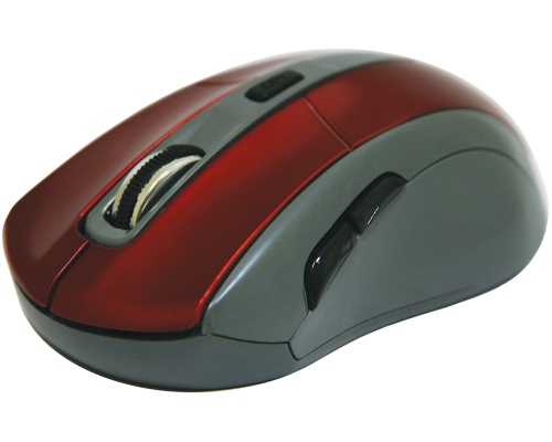 Мышь Defender Accura MM-965 беспроводная оптическая 1600dpi 6 кнопок USB красный (52966)