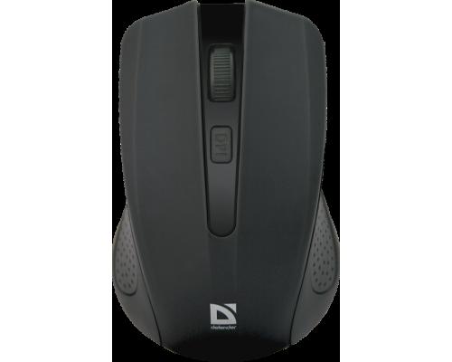 Мышь Defender Accura MM-935 беспроводная оптическая 800-1600dpi 4 кнопки USB черный (52935)