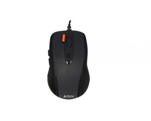 Мышь A4 Tech V-Track Padless N-70FX проводная оптическая 1600dpi 6 кнопок USB черный
