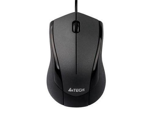 Мышь A4Tech V-Track Padless N-400-1 проводная оптическая 1000dpi 2 кнопки USB черно-серая