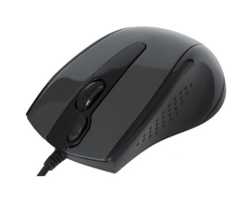 Мышь A4 Tech V-Track Padless N-500F проводная оптическая 1000dpi 2 кнопки USB серый