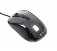 Мышь A4Tech V-Track Padless N-360-1 проводная оптическая 1000dpi 2 кнопки USB серый