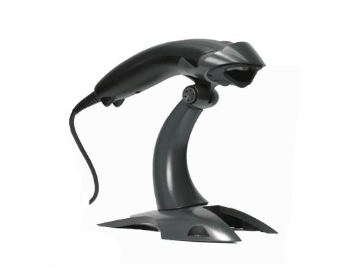Сканер штрих-кодов Honeywell 1400G2D, USB, ручной, 2D, имидж, с подставкой, черный