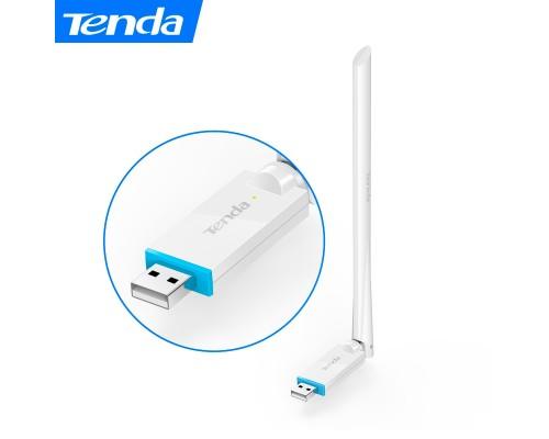 Адаптер Wi-Fi 802.11n Tenda U2, 150Мбит/с, USB, внешняя антенна 1х5 dBi