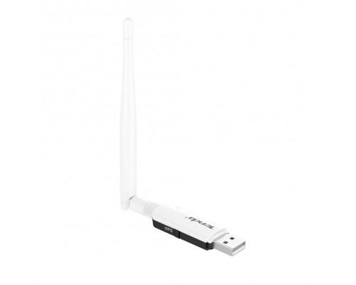 Адаптер Wi-Fi 802.11n Tenda U1, 300Мбит/с, USB, внешняя антенна 1х3,5 dBi
